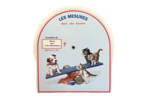Disque de mesure Version chat & chien
