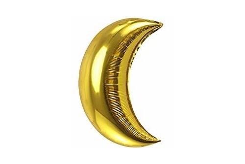 Ballon Mylar Lune dorée Géante