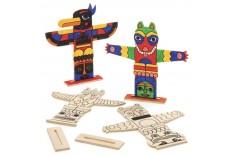 Kit Totem en bois