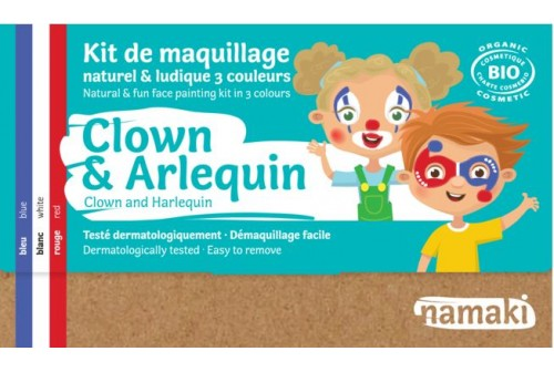 Kit de maquillage Clown & Super héro