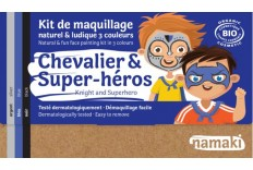 Kit maquillage Chevalier & Super Héros