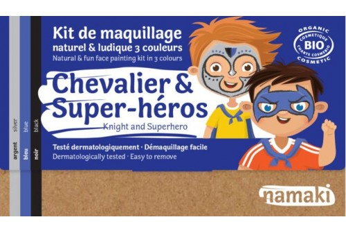 Kit maquillage Chevalier & Super Héros