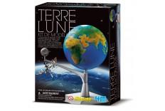 Kit de modélisme Terre & Lune 4M