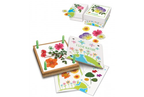 Kit presse à fleurs