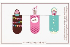 Marque page gourmandises