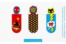 Marque page Super Heros