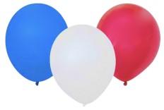 Ballon Bleu blanc rouge x 10