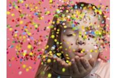 Set de mini confetti ronds