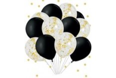 12 Ballons Soirées chics