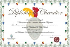 Diplômes de chevalier