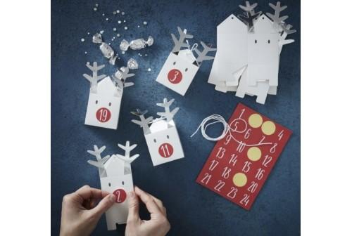Calendrier Avent Renne de Noël