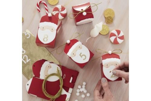 Calendrier Avent Père Noël DIY - Kit
