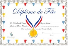 Diplômes de Fête