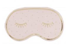 16 Serviettes masque de nuit