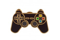Pins manette jeu video