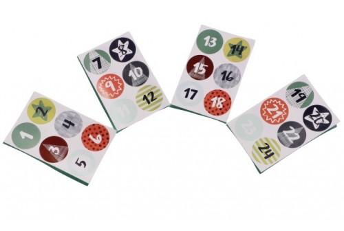 Stickers Calendrier de l'avent - n° 3