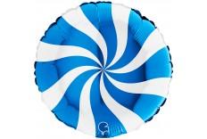 Ballon Tourbillon Bleu & blanc