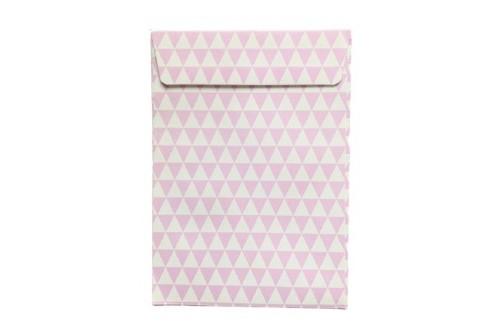 12 Enveloppes design lilas