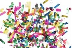 Canon à confetti multicolore