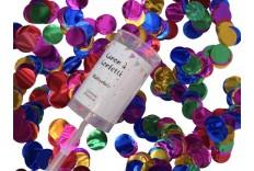 Lanceur confetti multicolore