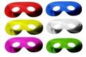 Masques super héros gliter