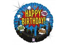 Ballon Super Heros Birthday