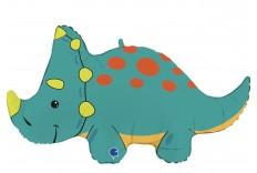 Ballon dino Triceratops XXL