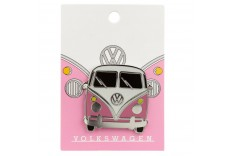 Pins bus rose Volkswagen