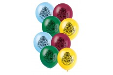 Ballon Harry Potter - set de 8 ballons