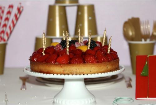 10 Bougies dorées