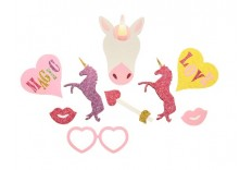 Kit photobooth Licorne DIY