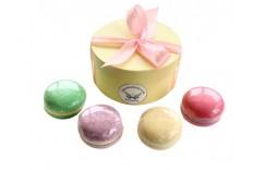 Boîte macarons de bain