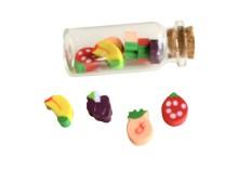 Fiole de mini gommes fruits