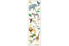 Marque page animaux sauvages