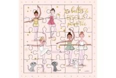 Carte Puzzle Les ballerines