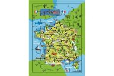 Puzzle la France