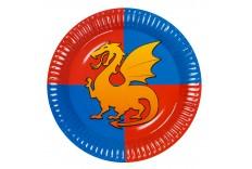 Assiettes dragon