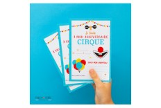 8 Invitations Cirque