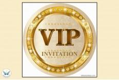 6 Invitations V.I.P.