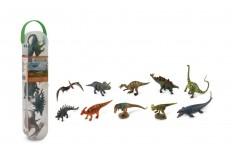 12 mini figurines dino