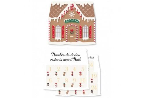 Maison d'avant Noël