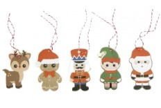 Etiquettes Sweet christmas x 10