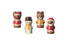 Mini tube figurine de Noël