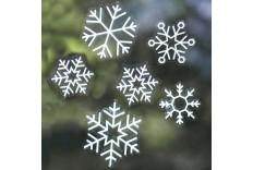 Set stickers fenêtre Flocons de neige