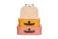 3 valises étoiles