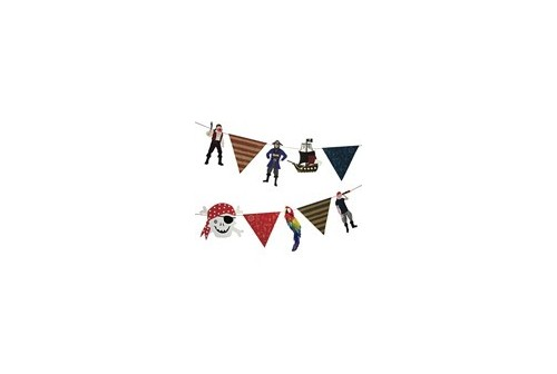 Guirlande de fête de pirates